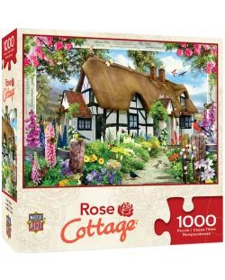Пъзел Master Pieces от 1000 части - Розовата къщурка, Хауърд Робинсън