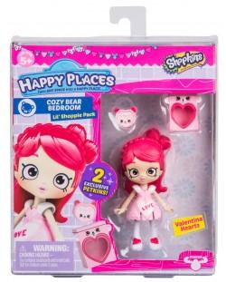 Фигурка Shopkins Happy Places - Valentina Hearts, Серия 3