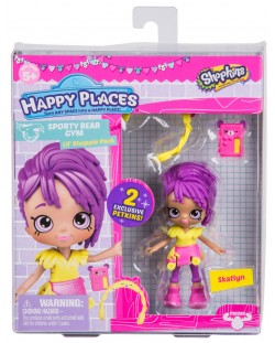 Фигурка Shopkins Happy Places - Skatlyn, Серия 3