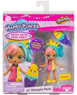 Фигурка Shopkins Happy Places - Coralee, Серия 4