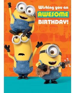 Музикална картичка Danilo - Minion Tickle: Birthday
