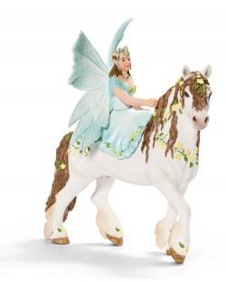 Фигурка Schleich от серията Баяла Илорис: Ейела на кон