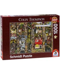 Пъзел Schmidt от 1000 части - Фантастичен град, Колин Томпсън