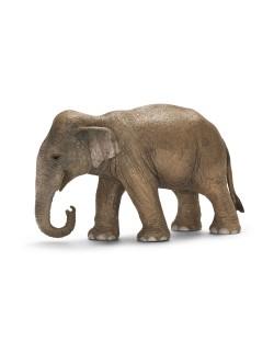Фигурка Schleich от серията Дивия живот - Азия и Австралия: Индийски слон - женски