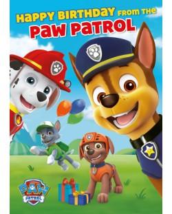 Музикална картичка Danilo - Paw Patrol: Birthday