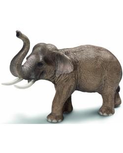 Фигурка Schleich от серията Дивия живот - Азия и Австралия: Индийски слон - мъжки