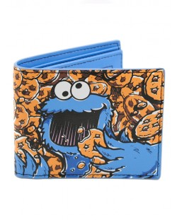 Sesame Street Cookie Monster портфейл