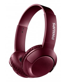 Слушалки Philips SHB3075RD - червени