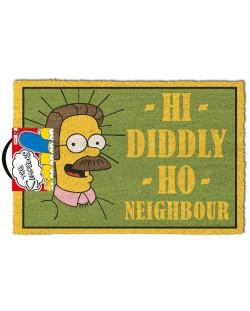 Изтривалка за врата Pyramid - The Simpsons  (Hi Diddly Ho Neighbour) , 60 x 40 cm
