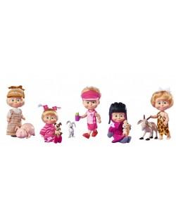Кукла Маша и Мечока Simba Toys - Маша с домашен любимец – асортимент