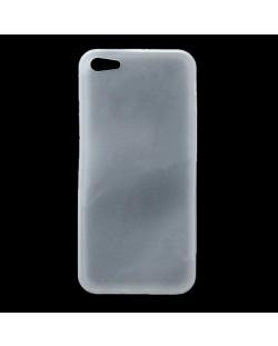 Skinny TPU Case за iPhone 5 -  прозрачен-мат