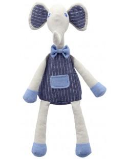 Плюшена играчка The Puppet Company Wilberry Linen - Слонче, от лен, 35 cm