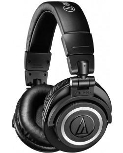 Слушалки с микрофон Audio-Technica ATH-M50xBT - черни