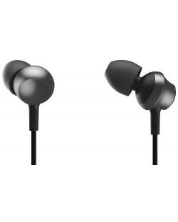 Слушалки с микрофон Panasonic RP-TCM360E-K - черни