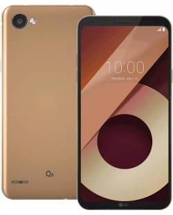 "Смартфон LG Q6  - 5.5"", 32GB, black/gold"
