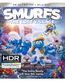 Смърфовете: Забравеното селце (4K UHD + Blu-Ray)