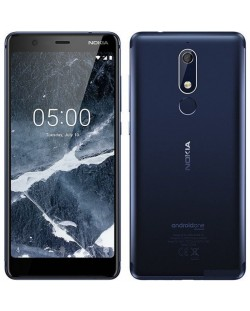 "Смартфон Nokia 5.1 DS - 5.5"", 16GB, син"