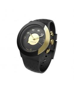 Смарт часовник Cogito Fit - черно/златисто