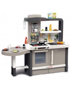 Интерактивна детска кухня Smoby Tefal Evolution - С аксесоари, ефект на кипене и звуци