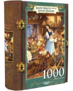 Пъзел в кутия-книга Master Pieces от 1000 части - Снежанка