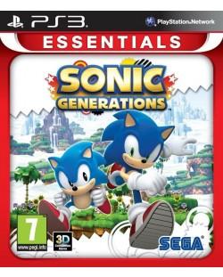 Sonic Generations - Essentials (PS3)