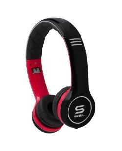Слушалки Soul SL100 - черни/червени