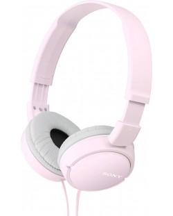 Слушалки Sony MDR-ZX110 - розови