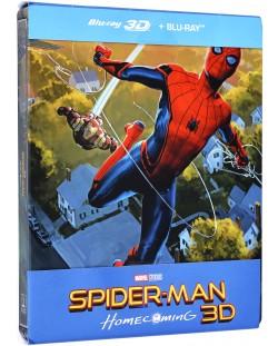Спайдър-мен: Завръщане у дома Steelbook Edition 3D+2D (Blu-Ray)