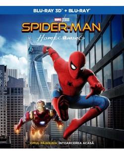 Спайдър-мен: Завръщане у дома 3D+2D (Blu-Ray)
