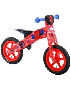 Дървено колело за баланс E&L Cycles - Спайдърмен, 12 инча
