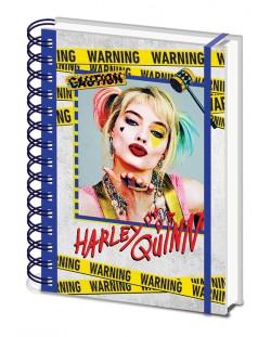 Тефтер Pyramid - Birds Of Prey (Harley Quinn Warning)