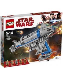 Конструктор Lego, Star Wars - Бомбардировач на Съпротивата (75188)