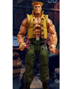 Street Fighter Action Figure Guile in Charlie Costume SDCC Exclusive 18 cm