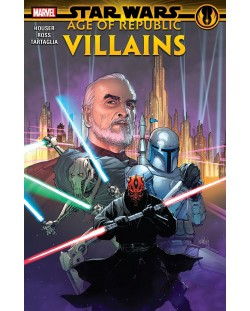 Star Wars Age of the Republic. Villains