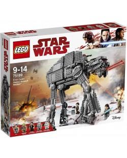 Конструктор Lego Star Wars - Heavy Assault Walker на Първата заповед (75189)