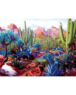 Пъзел SunsOut от 1000 части - Страната на кактусите, Стивън Морат