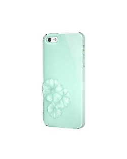 SwitchEasy Dahlia Sparkling Mint за iPhone 5