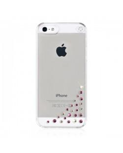 Swarovski Diffusion Pink Mix за iPhone 5