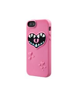SwitchEasy Monsters Pinky за iPhone 5 -  розов