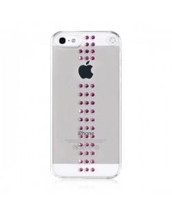Swarovski Stripe Fuchsia за iPhone 5