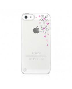 Swarovski Flower Pink Mix за iPhone 5