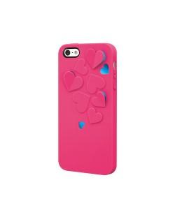 SwitchEasy Kirigami Hot Love за iPhone 5 -  розов