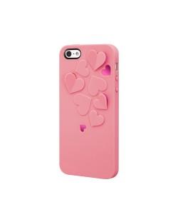 SwitchEasy Kirigami Sweet Love за iPhone 5 -  светлорозов