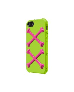 SwitchEasy Bones Toxic Lime за iPhone 5