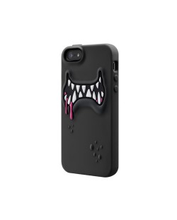 SwitchEasy Monsters Ticky за iPhone 5 -  черен