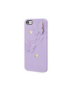SwitchEasy Kirigami Lavender Wings за iPhone 5 -  лилав