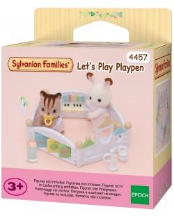 Фигурка за игра Sylvanian Families - Бебешка кошарка