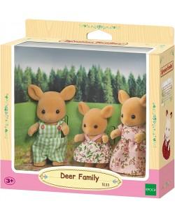 Комплект фигурки Sylvanian Families - Семейство еленчета