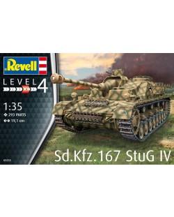 Сглобяем модел Revell - Танк Sd.Kfz. 167 StuG IV (03255)