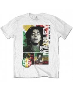 Тениска Rock Off Bob Marley - 56 Hope Road Rasta